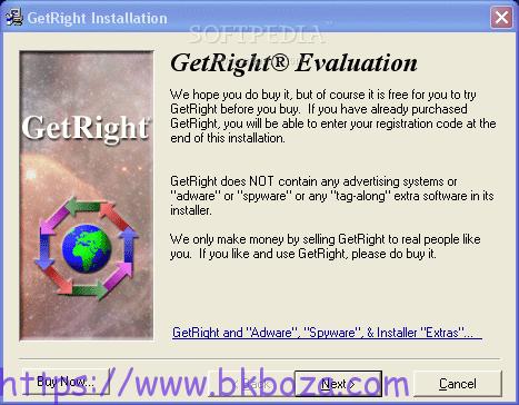 تحميل برنامج التنزيلات الرائع GetRight
