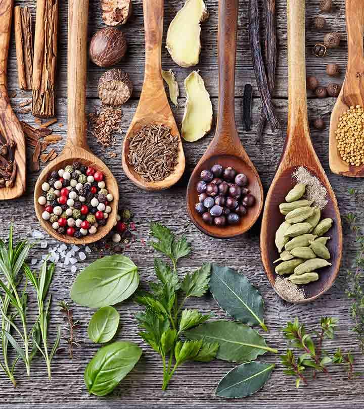التخسيس بالاعشاب وبمكونات بسيطة من مطبخك